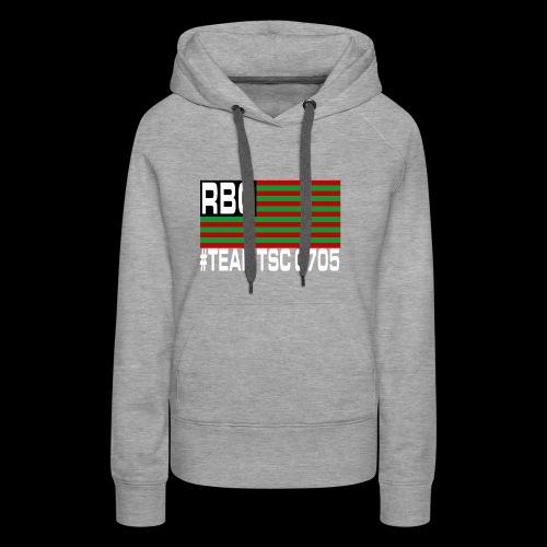 TeamTSC RBGFlag 2 - Women's Premium Hoodie