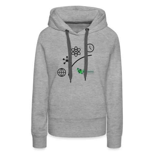 Matter Energy Space Time (Black) - Women's Premium Hoodie