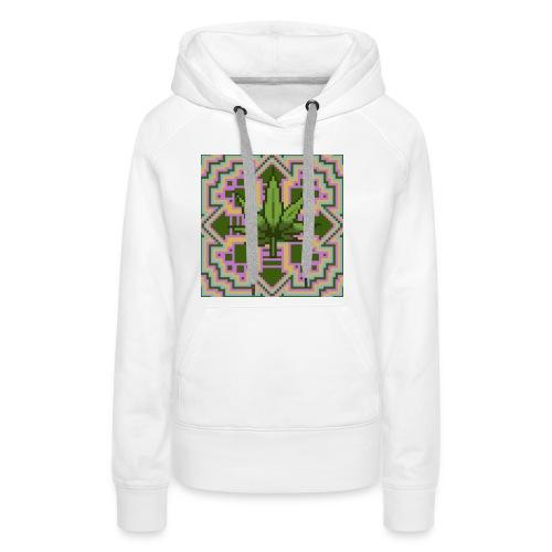 Trippy Marry Jay Leaf - Women's Premium Hoodie