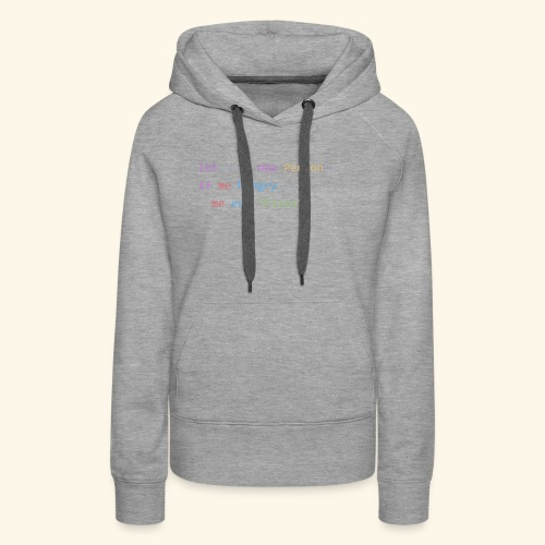 Pizza Code - Colored Version - Women's Premium Hoodie