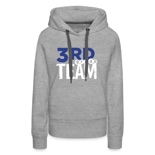 Bold 3rd Grade Team Teacher T-Shirts - Women's Premium Hoodie