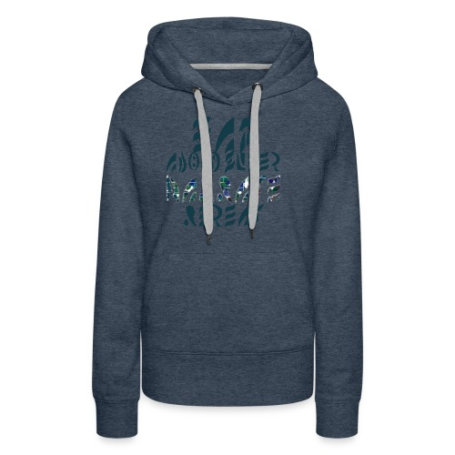 Eat Sleep Narrate Repeat - Women's Premium Hoodie