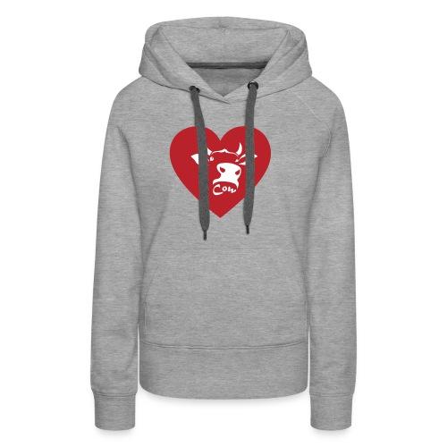Cow Heart - Women's Premium Hoodie