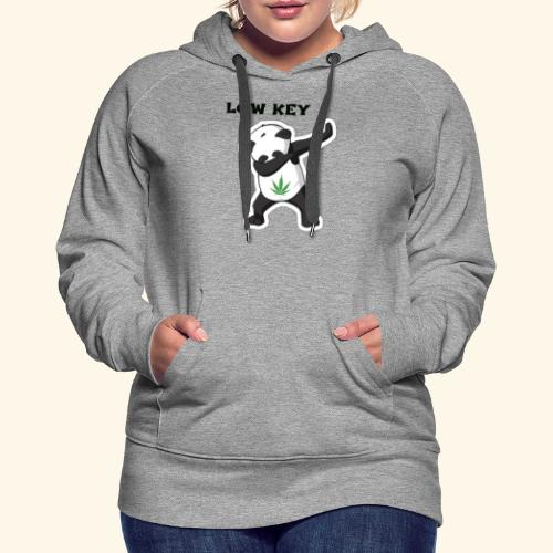 LOW KEY DAB BEAR - Women's Premium Hoodie