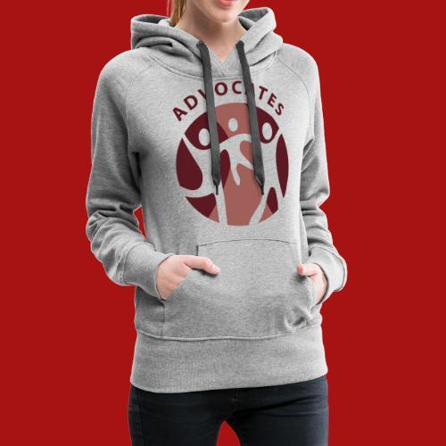 Advocates Logo Transparent - Women's Premium Hoodie