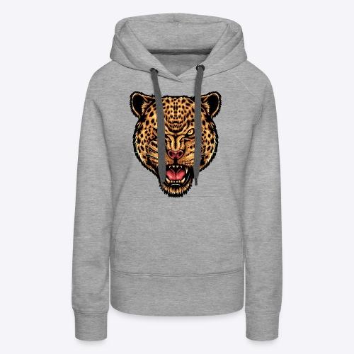 strength_and_focus_jaguar - Women's Premium Hoodie