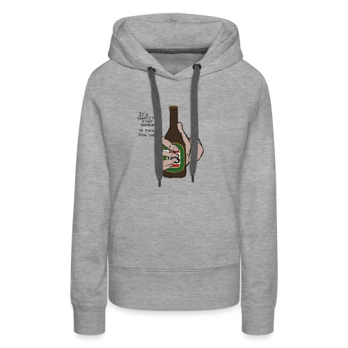 it's twenty to eight somewhere - Women's Premium Hoodie