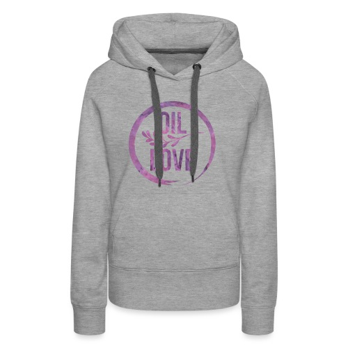 Oil Love Purple - Women's Premium Hoodie