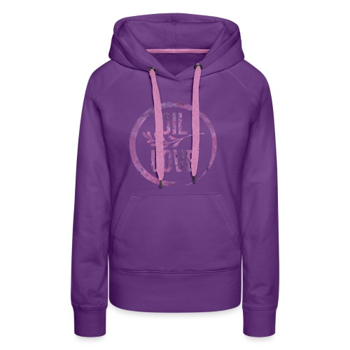 Oil Love Purple - Women's Premium Hoodie