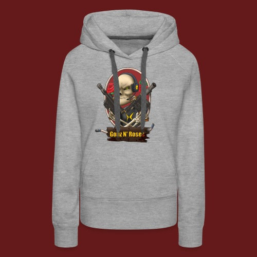 Gonz and Roses t shirt - Women's Premium Hoodie