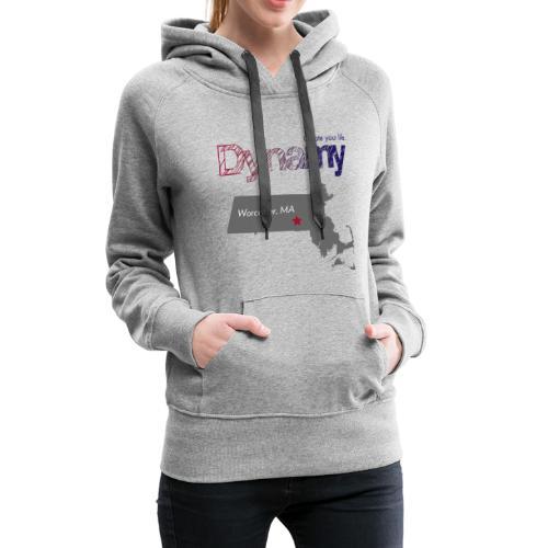 Worcester Map - Women's Premium Hoodie
