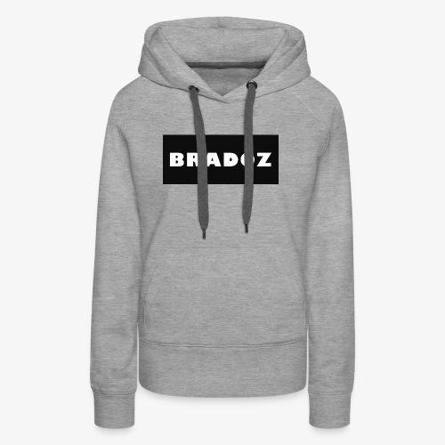 BRADOZ SHIRT LOGO - Women's Premium Hoodie