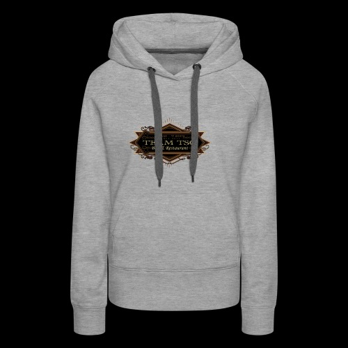 teamTSC badge03 Bar - Women's Premium Hoodie