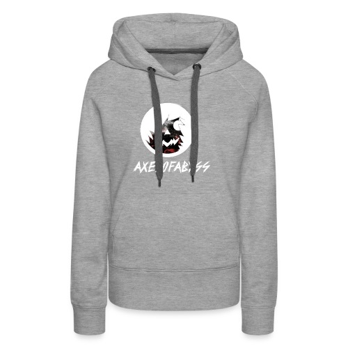 Axelofabyss Red with Nature - Women's Premium Hoodie