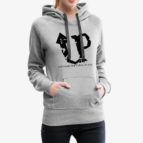 Uncomfortable Places Logo Shirt - Women's Premium Hoodie