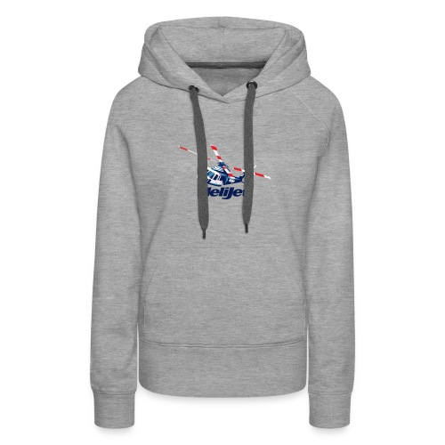 Helijet Colour Artwork - Women's Premium Hoodie