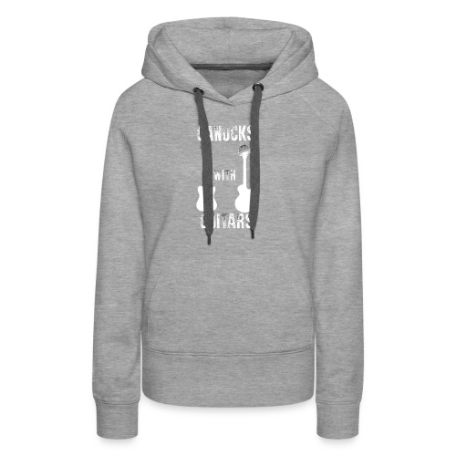 Canucks With Guitars - Women's Premium Hoodie