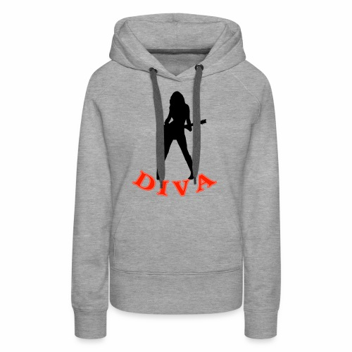 Rock Star Diva - Women's Premium Hoodie