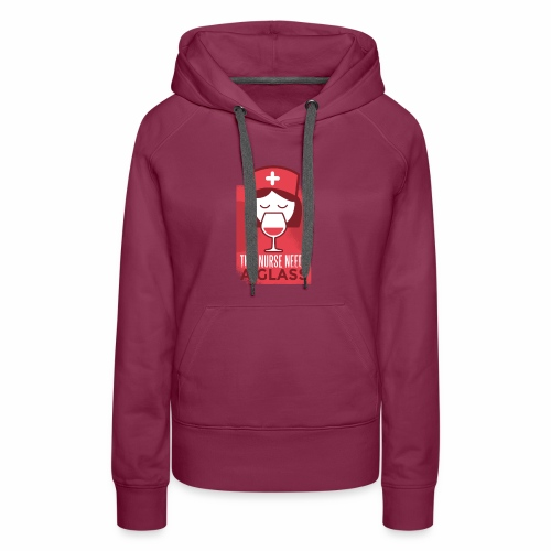 healthcare tshirt 003 HQ 01 - Women's Premium Hoodie
