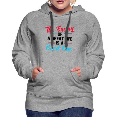 Enemy of Life - Women's Premium Hoodie