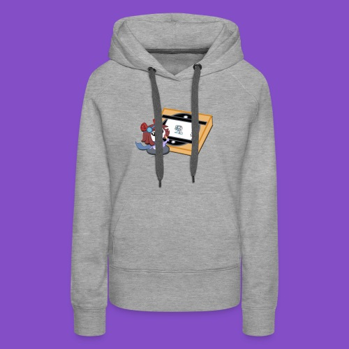 Zyrin with Animation Board - Women's Premium Hoodie