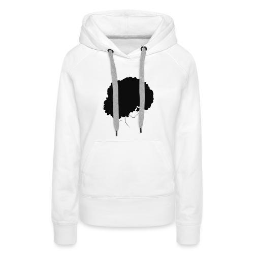 #blackgirlsmatter art - Women's Premium Hoodie