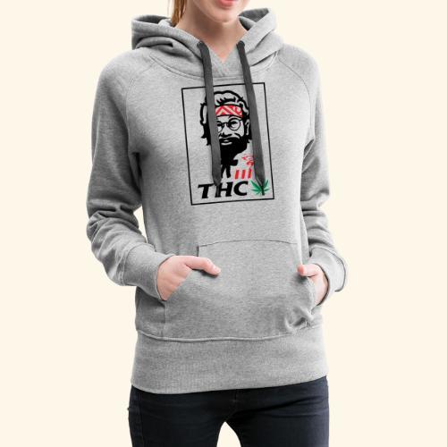 THC MEN - THC SHIRT - FUNNY - Women's Premium Hoodie
