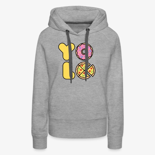 You Only Lift Once - Women's Premium Hoodie