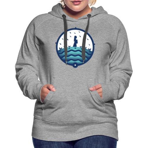 Marche de L'eau Kipawa Temiskaming Water Walk 2021 - Women's Premium Hoodie
