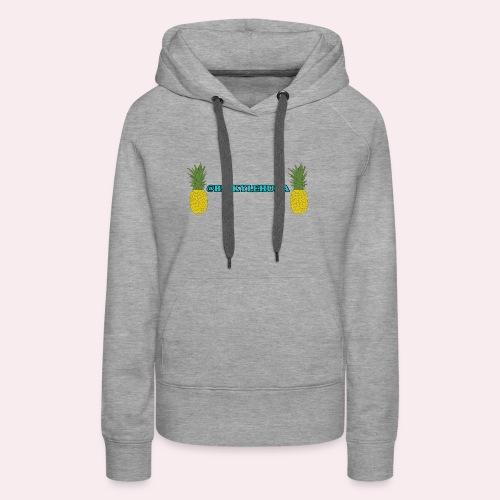 Pineapple Gang Logo - Women's Premium Hoodie
