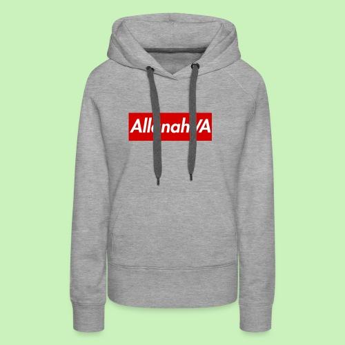 AllanahVA Supreme Red - Women's Premium Hoodie