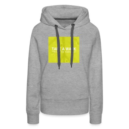 Take a Walk - Women's Premium Hoodie