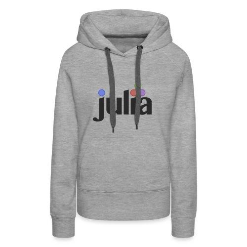 Official Julia Logo - Women's Premium Hoodie