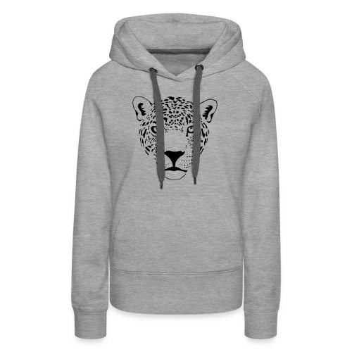 jaguar cougar cat puma panther leopard cheetah - Women's Premium Hoodie