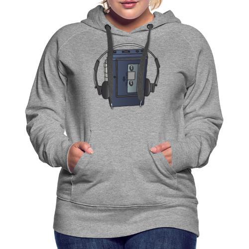 WALKMAN cassette recorder - Women's Premium Hoodie