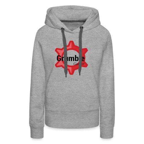 GrumbleGamer18 logo - Women's Premium Hoodie