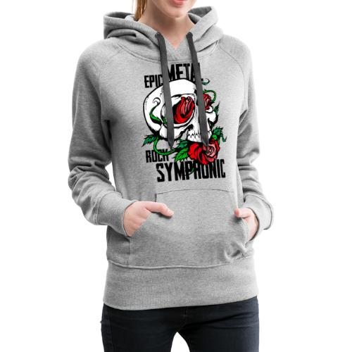 epic rock symphonic - Women's Premium Hoodie