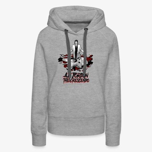 aj-hallelujah-tshirt-conc - Women's Premium Hoodie