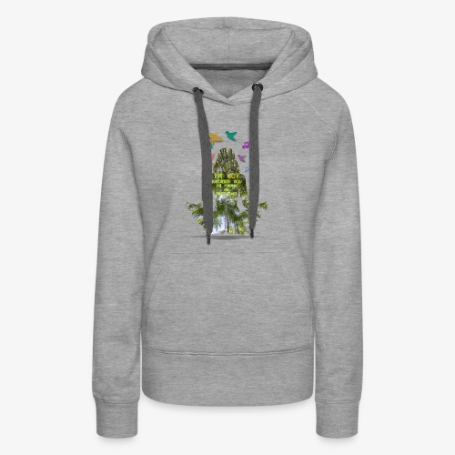 I'm not ignoring you, finding inner peace - Women's Premium Hoodie