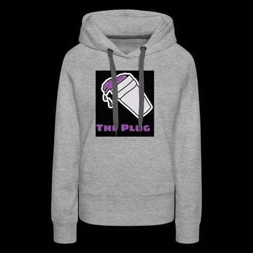 the Plug logo - Women's Premium Hoodie