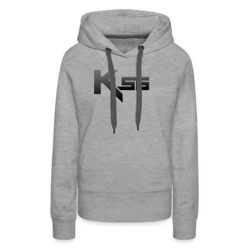 Black KSG png - Women's Premium Hoodie