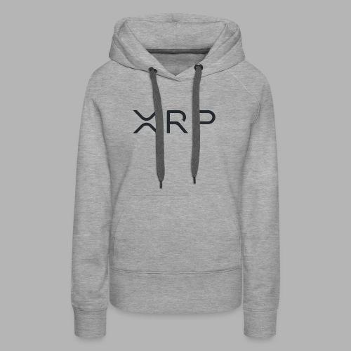 XRP BLACK - Women's Premium Hoodie
