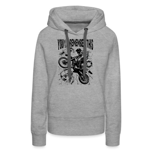 Remember Motocross - Women's Premium Hoodie