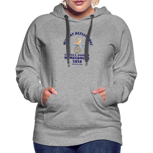Carter G Woodson Homecoming Logo Blue - Women's Premium Hoodie