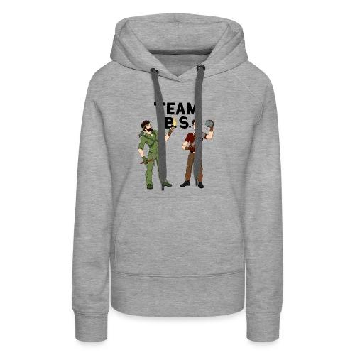 teambs-caglee-cropped - Women's Premium Hoodie