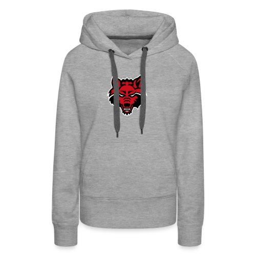 Red Wolf - Women's Premium Hoodie