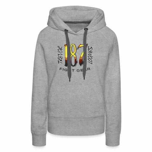 Coloured Trevor Loomes 187 Fight Gear Logo - Women's Premium Hoodie
