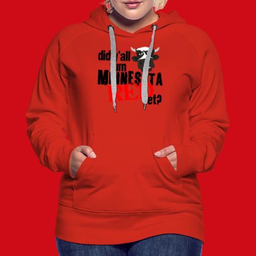 Turn Minnesota Red - Women's Premium Hoodie