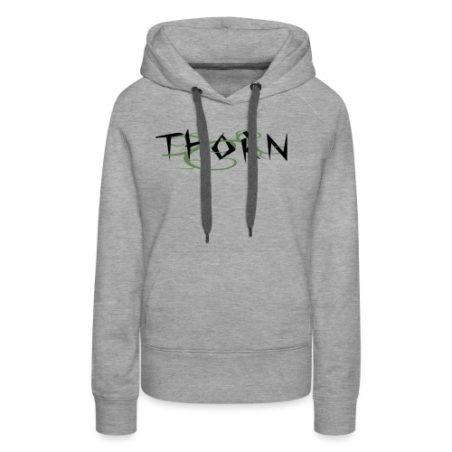 Thorn Vines Copy png - Women's Premium Hoodie