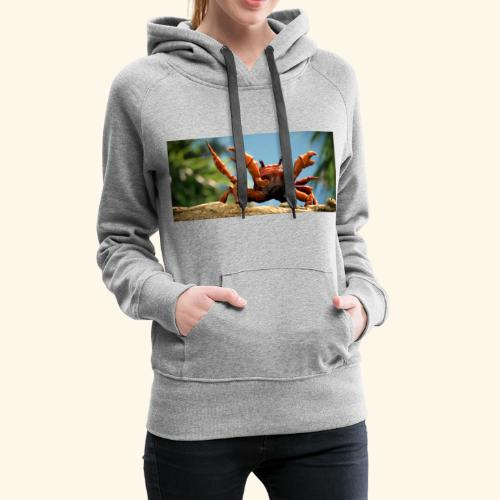 obama is gone crab- Mme Worthy Apparel - Women's Premium Hoodie